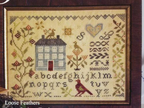 Blackbird Designs Cross Stitch Chart Abecedarian Series #12 Garden Borders