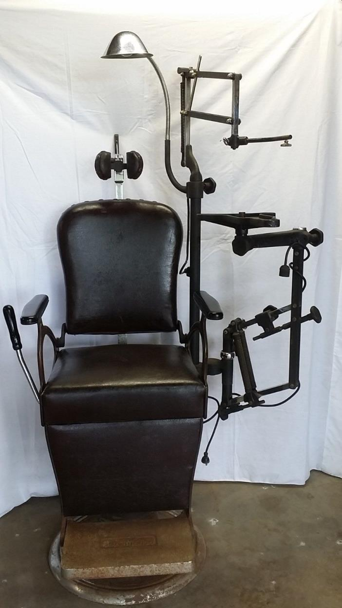 Rare Genothalmic Opticians chair circa 1927