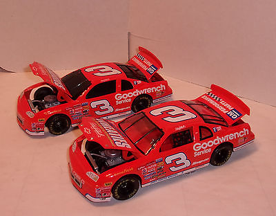 Action 2 Car Set Dale Earnhardt #3  Wheaties 1997 Monte Carlo Car and Bank  1/24