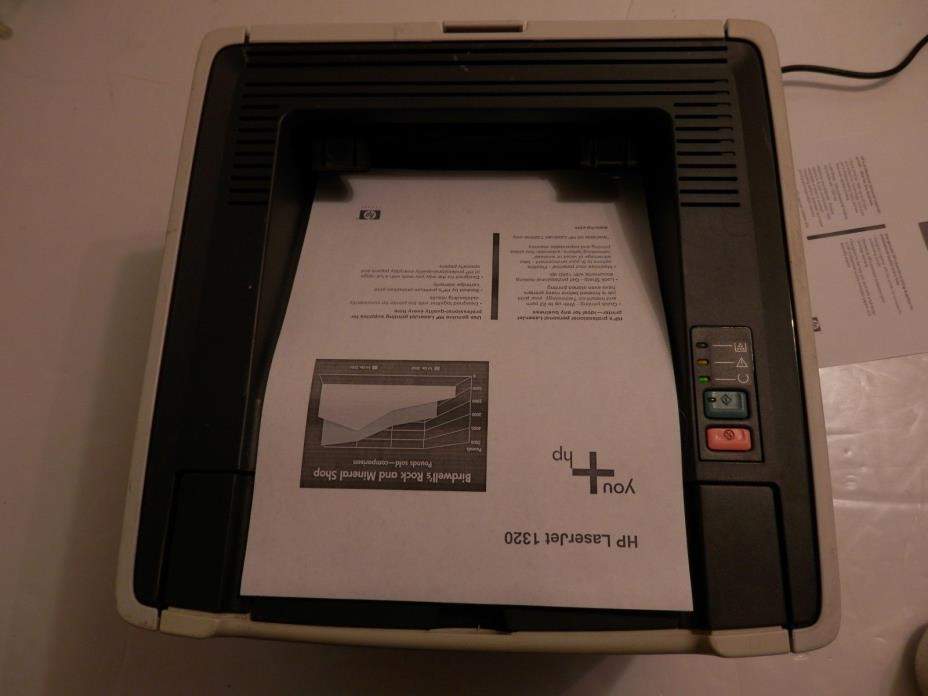 HP LaserJet 1320n Network Desktop Printer