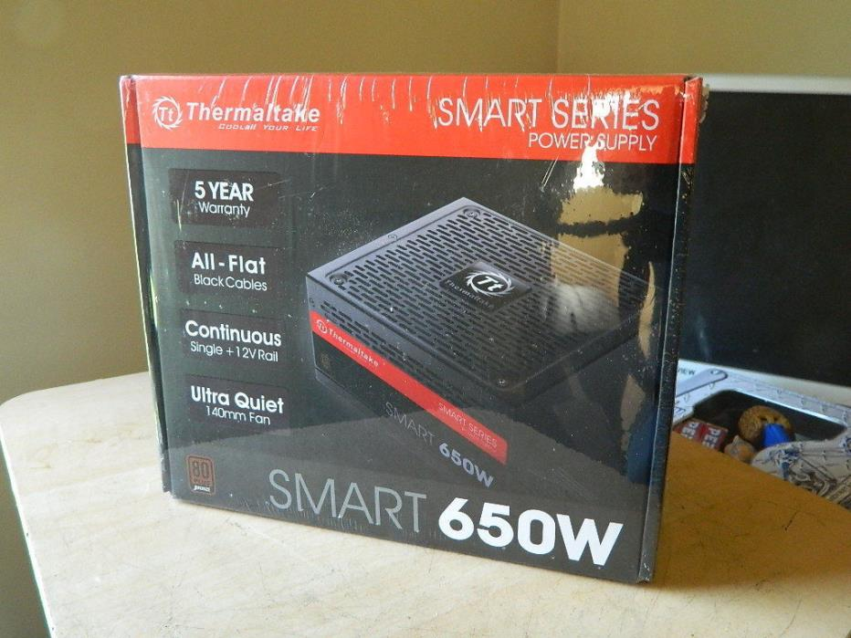 Unopened Thermalake SP-650P Smart 650w PC Power Supply SP650PCBUXMR002560