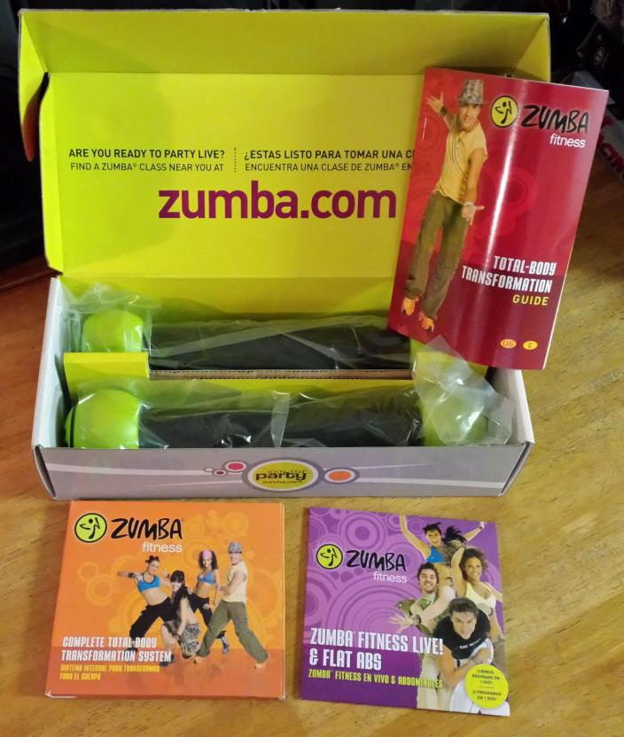 Zumba Fitness Live Dvd: For Sale Classifieds