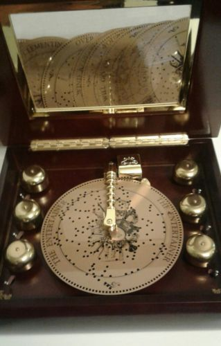 Mr. Christmas musical bell music box 16 records works