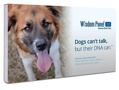 Mars Veterinary Wisdom Panel 3.0 Breed Identification For Dogs DNA Test Kit New