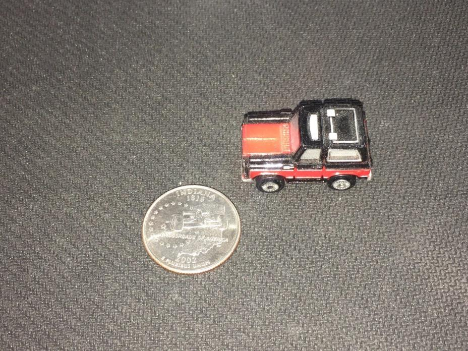 Micro Machines Chevy Blazer Insider Black and Red