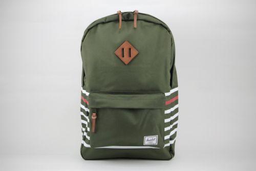 Herschel Heritage 21.5L 10007-01236 Forest Night Canvas Offset Stripe Backpack