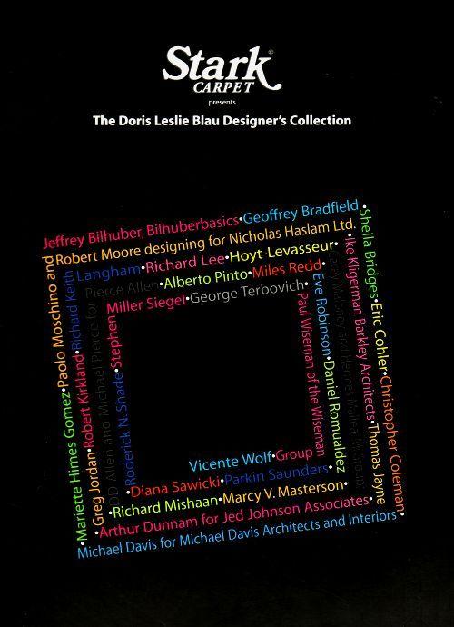 THE DORIS LESLIE BLAU DESIGNER CARPET COLLECTION