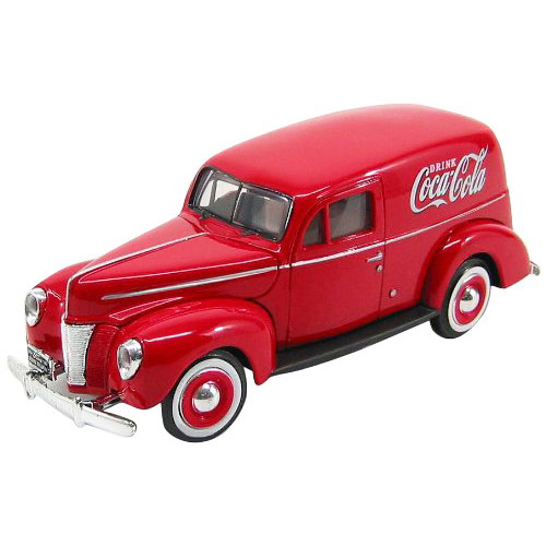 Coca-Cola Die-Cast 1940 Ford Sedan Delivery Van 1:24 Scale