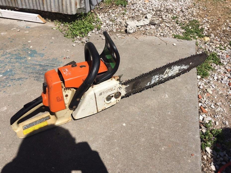 Used Stihl MS 260 Chainsaw