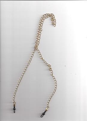 Eye Glass Holder - Chain - Gold Plated