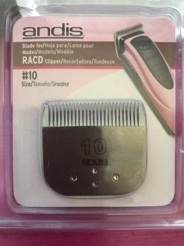 Andis Easy Clip Pet Grooming Blades Size 10, New, Free Shipping