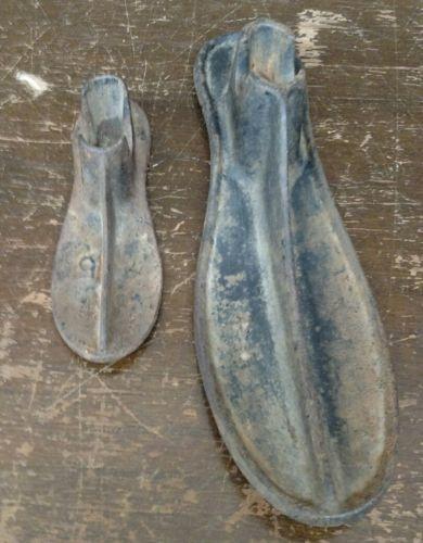 Pair Of Vintage Cobbler Anvils 5.5