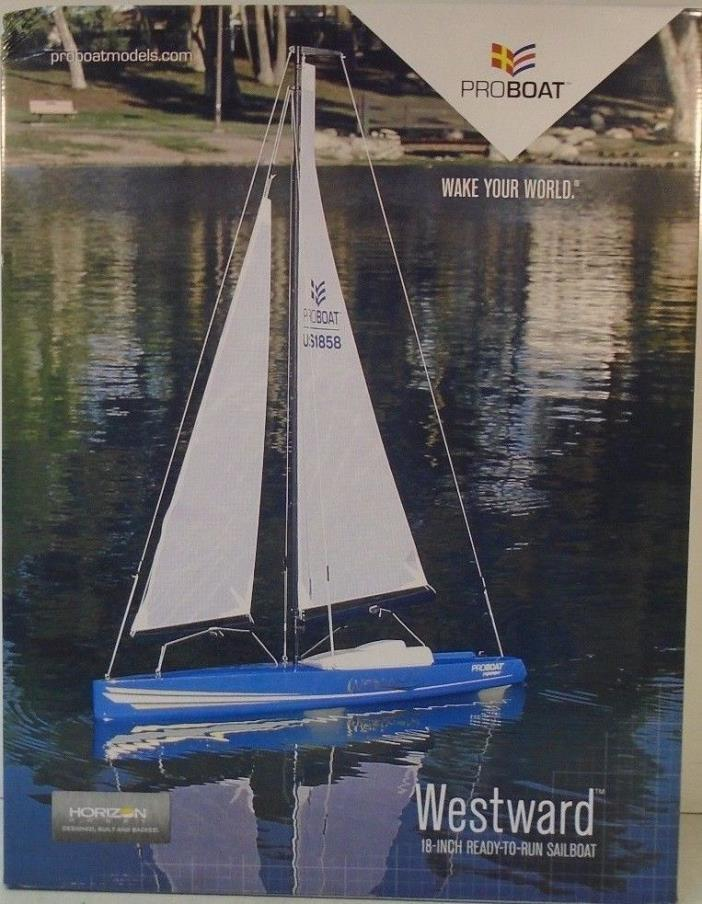 Pro Boat Westward 18-inch Sailboat V2:RTR PRB07002