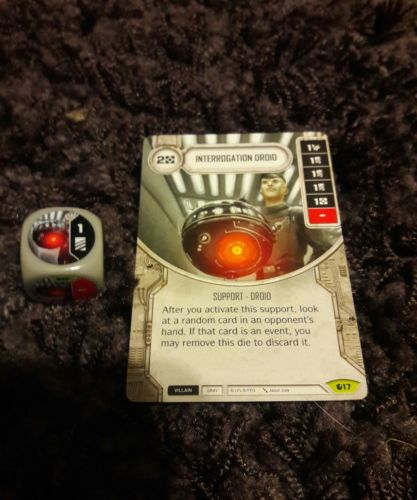 Star Wars Destiny Spirit of Rebellion Interrogation Droid