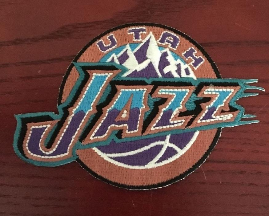 UTAH JAZZ BASKETBALL PATCH, NEW