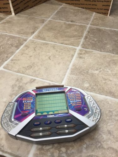 Who Wants To Be A Millionaire Handheld Electronic Game 2000 Tiger