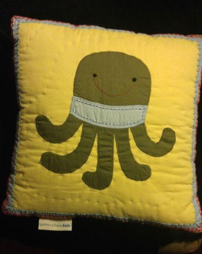 Pottery Barn Kids Octopus Pillow