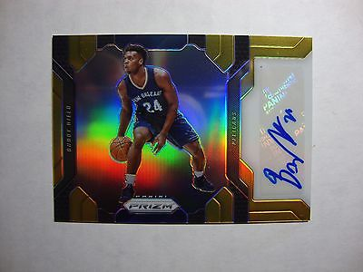 2016/17 Panini Prizm Gold Refractor BUDDY HIELD Auto RC 5/10 SSP