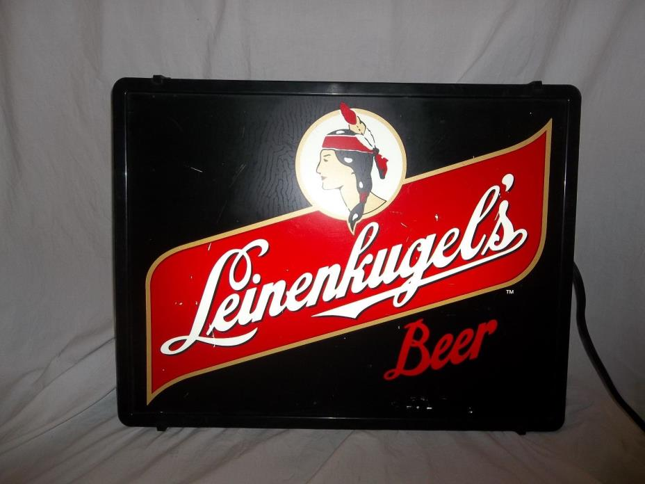 Man Cave Lighted Beer Signs : Leinenkugel beer signs for sale classifieds