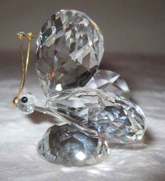 Swarovski Animals Moth Butterfly Austria Art Glass Crystal #7667