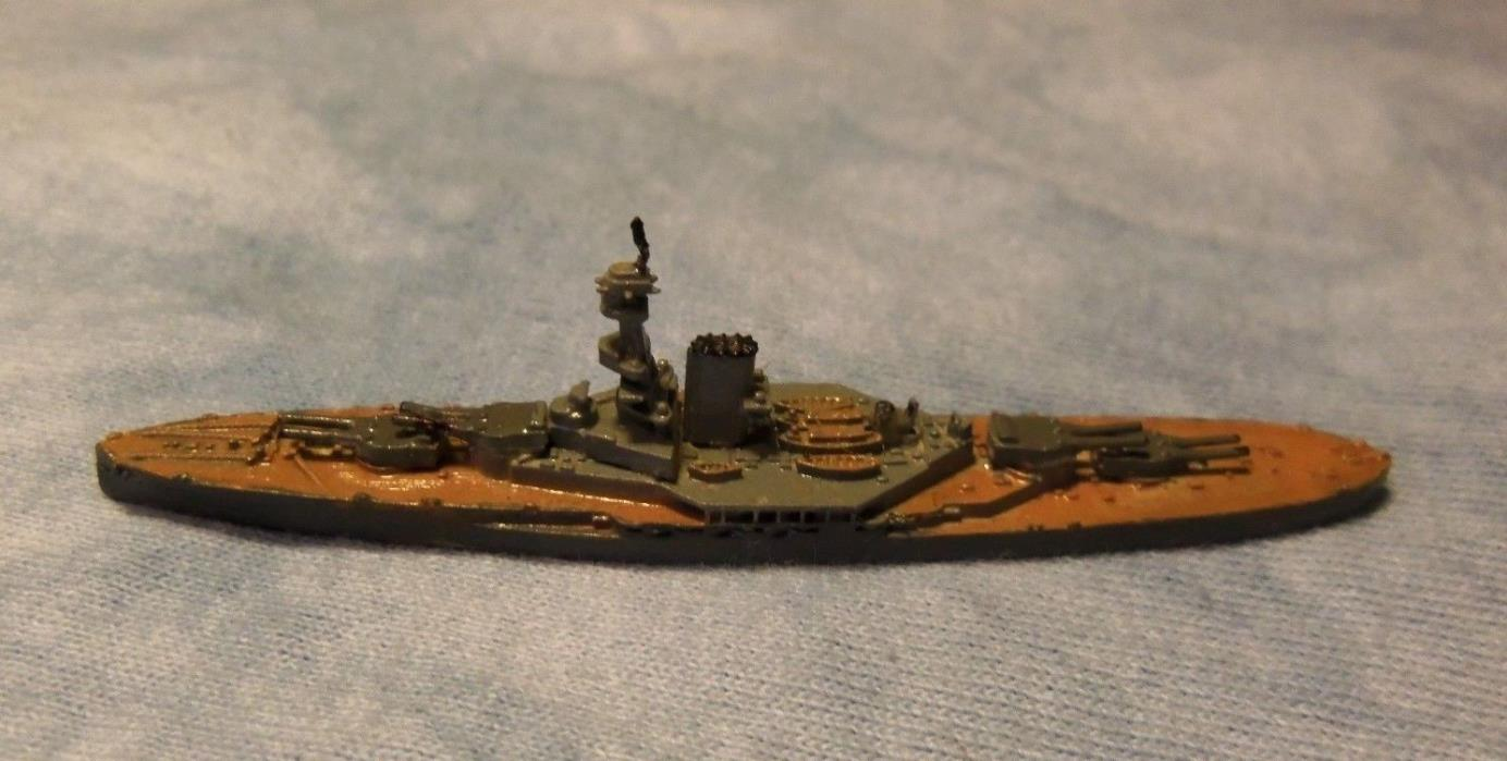 H.M.S. Royal Oak WW1 Royal Navy Battleship 1/2400 scale Painted