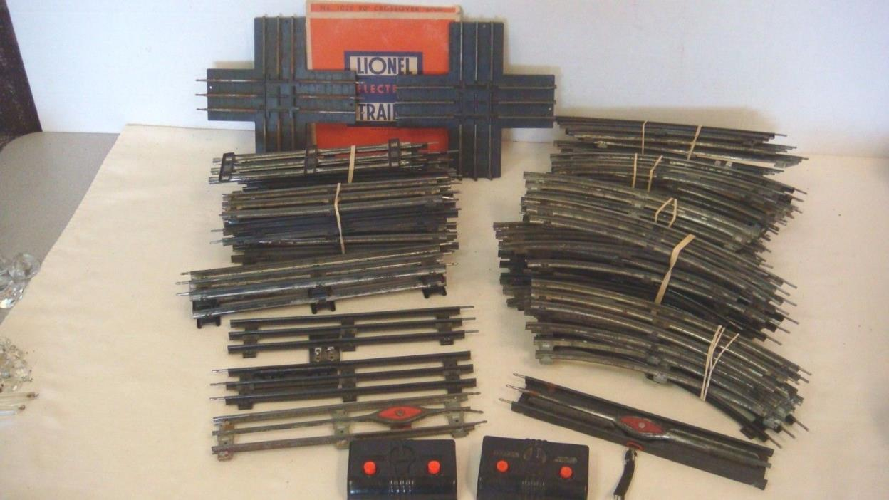 VINTAGE LIONEL 027 STRAIGHT CURVED TRACK LOT 58 UNCOUPLE UNLOAD