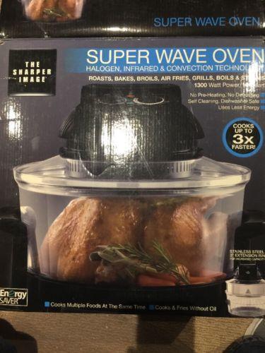 The Sharper Image Super Wave Convection Oven 16qt, 8217 NIB