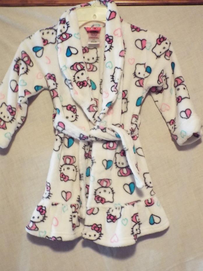 Hello Kitty robe size 4T/4
