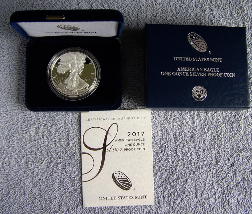 2017 W American Eagle Silver Proof