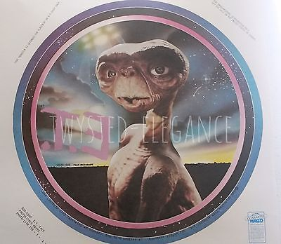 Original Vintage E.T. Iron On Transfer -  FREE SHIPPING Within U.S.