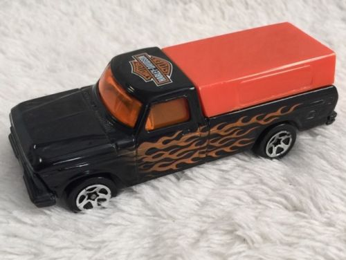 HOT WHEELS '79 FORD F-150 HARLEY DAVIDSON TRUCK LOOSE,  1:64 SCALE DIECAST CARS