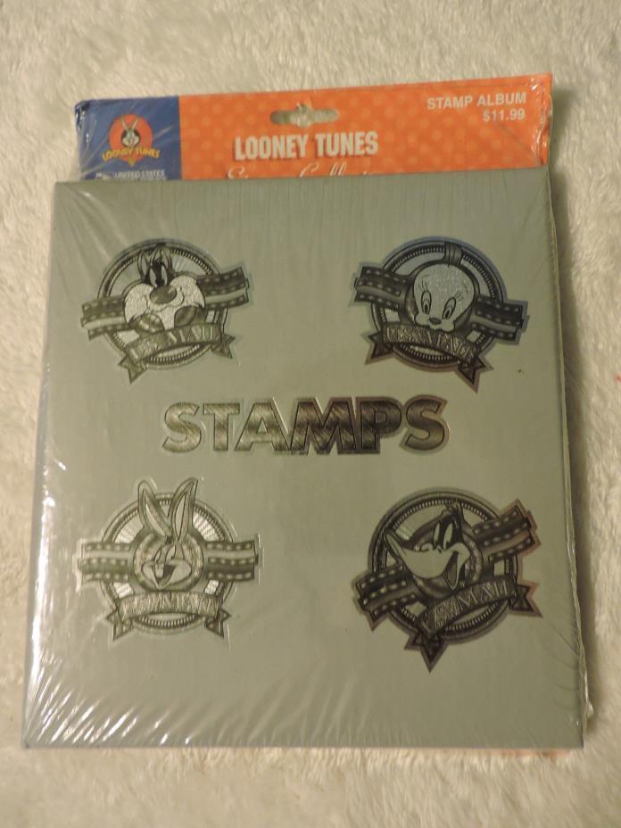 Vintage 1999 USPS Looney Tunes STAMP ALBUM Colection NEW NIP