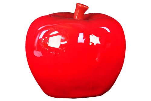 Astonishing & Radiant Ceramic Apple Decor