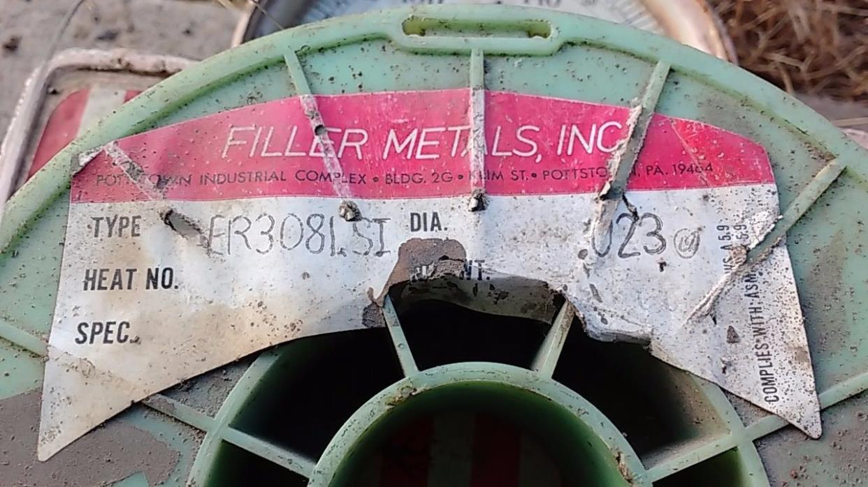 FILLER METALS ER308LSI STAINLESS STEEL MIG WELDING WIRE 0.035'' 3LB (ER308si)