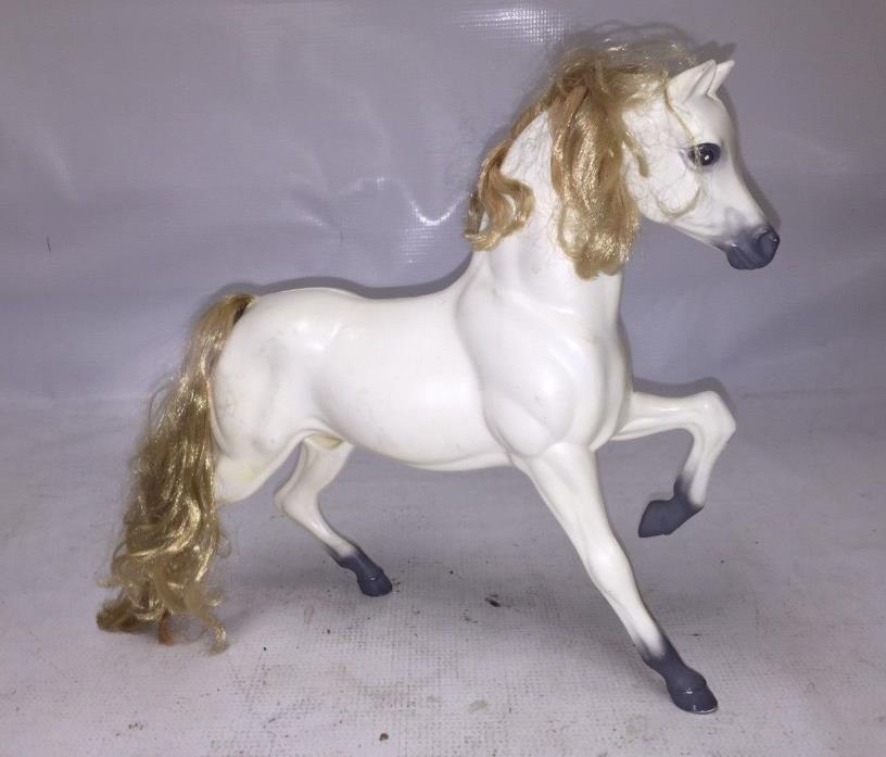 White barbie horse prancer