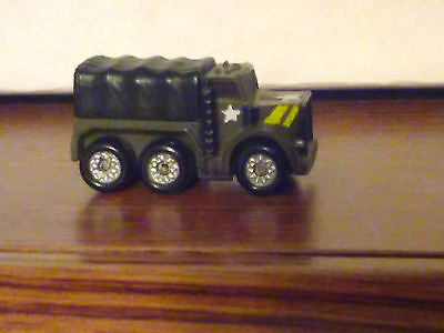 MICRO MACHINES MILITARY, 2 1/2 TON, COVERED TRUCK,