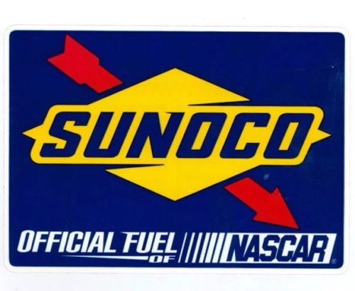 Sunoco Race Fuel NASCAR Stock Car Racing Toolbox Window Sticker