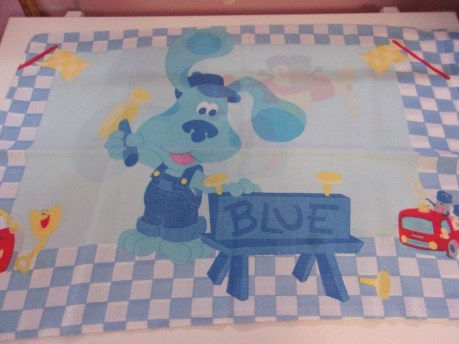 Blue's Clues Pillowcases - Double Sided - Set of 2 - Pre owned