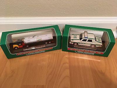 Hess Truck Miniatures 2003 & 2004