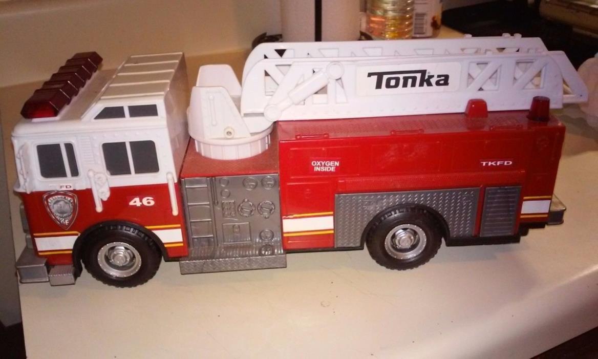 tonka fire truck 46