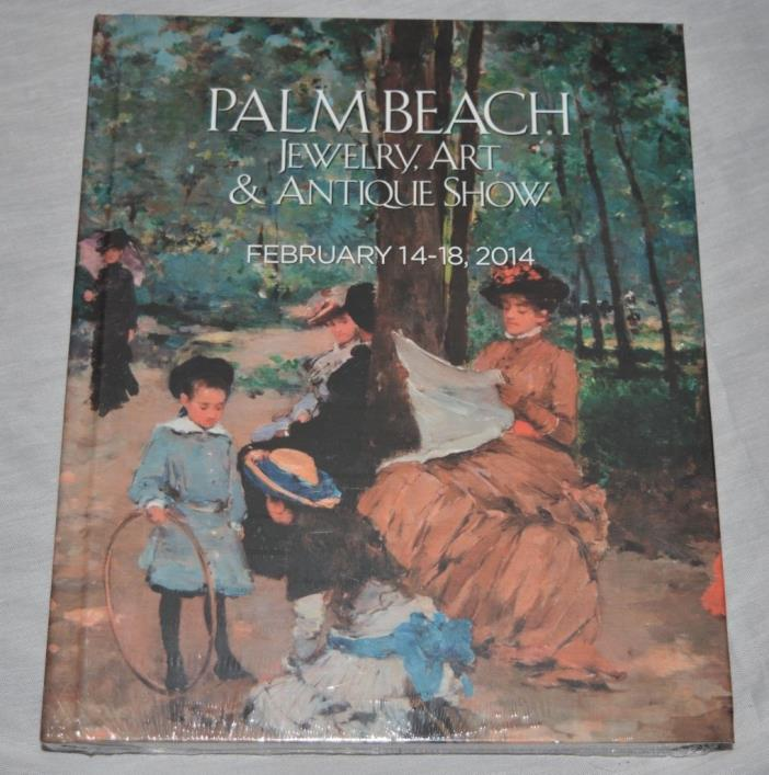 NEW Naples and Palm Beach Jewelry, Art and Antique Show 2014 HC Book Sealed