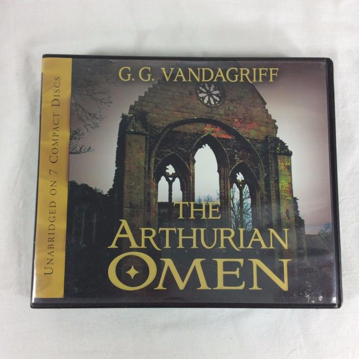 The Arthurian Omen GG Vandagriff Audio book CD Mormon LDS Tape Novel King Arthur