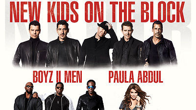 2 Tickets NKOTB New Kids Paula Abdul Boyz II Men 6/27/17 Brooklyn Barclays NY