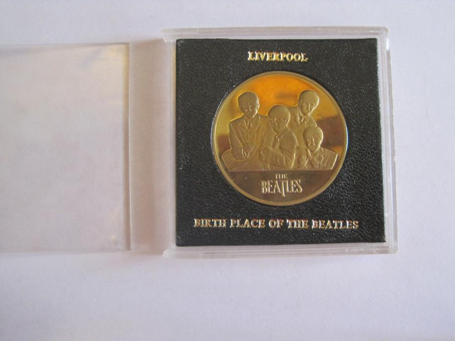 beatles coin liverpool birth of the beatles nice item  free shipping