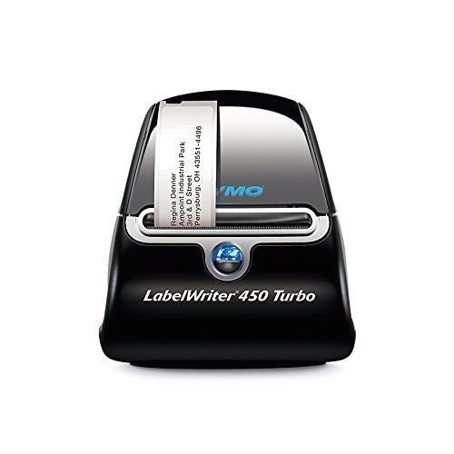 New DYMO Label Writer 450 Turbo – Windows And Mac Thermal Postage Label Printer