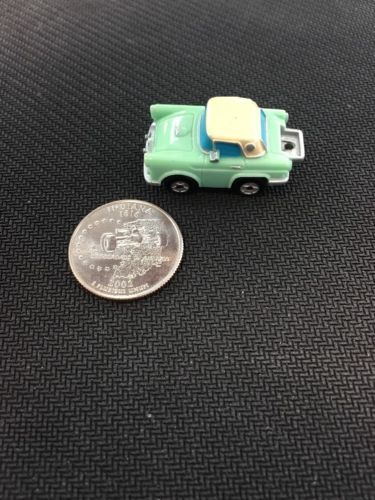 Micro Machines '56 Thunderbird Insider Teal w/No Tire