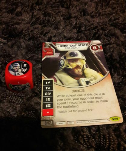 Star Wars Destiny Spirit of Rebellion Temmin