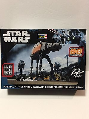 Revell Star Wars Imperial AT-ACT Cargo Walker Snap Tite 1/100 scale 1636 BN