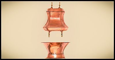 French Copper Fountain Decoration Louis XIV period.