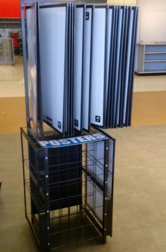 Poster Display Rack Wore Fixture